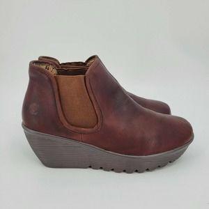 Skechers Parallel Double Great Chelsea Boots Sz 9